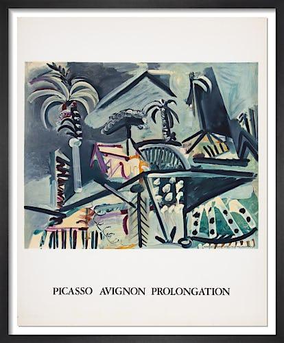 Picasso Avignon Prolongation, 1973 by Pablo Picasso