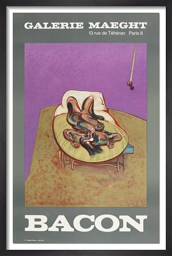 Character Couché 1966 by Francis Bacon