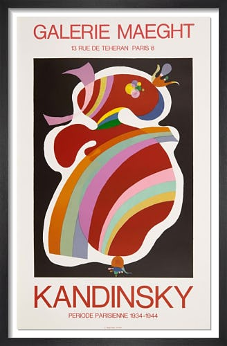 Forme Rouge 1938 by Wassily Kandinsky