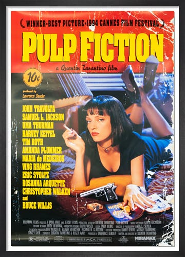 Pulp Fiction (1994) from Rare & Limited