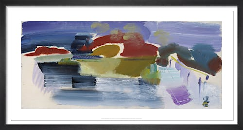 Alresford Footbridge, 1965 by Ivon Hitchens