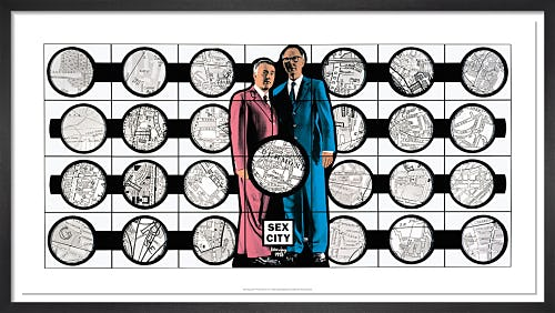 SEX CITY, 1998 by Gilbert & George