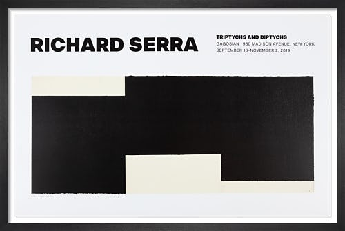 Triptych #2 Poster by Richard Serra