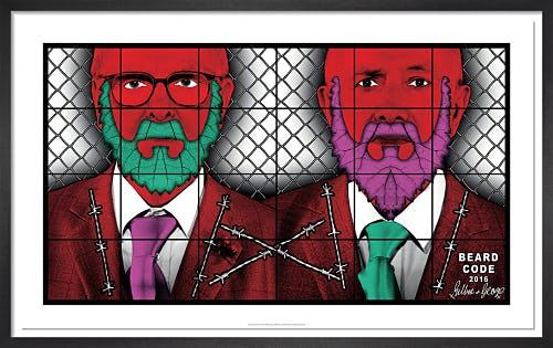 Beard Code, 2016 by Gilbert & George