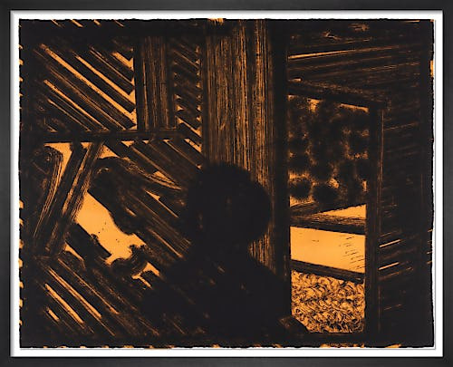 Artist and Model (signed) by Sir Howard Hodgkin