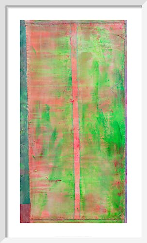 Toothpick Painting, 2020 by Frank Bowling