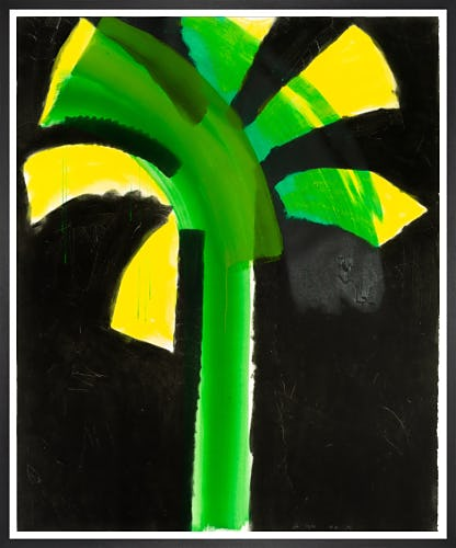 Night Palm (signed) by Sir Howard Hodgkin