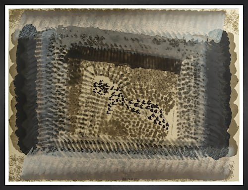 One Down (signed) by Sir Howard Hodgkin