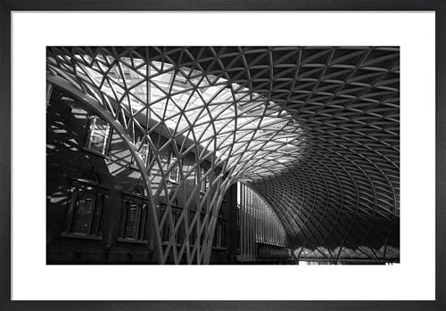 Roofspan, Kings Cross Station by Niki Gorick