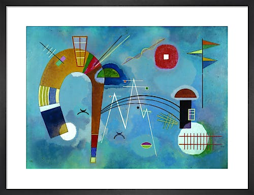 Round and Pointed 1930 by Wassily Kandinsky