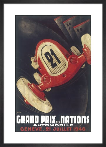 Grand Prix of Nations, Geneva 1946 by Unknown artist