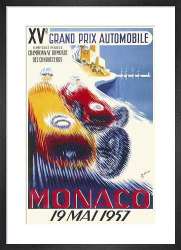 Monaco Grand Prix, 1957 by Unknown artist