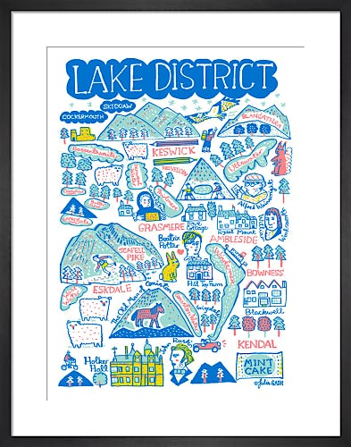 Lake District by Julia Gash
