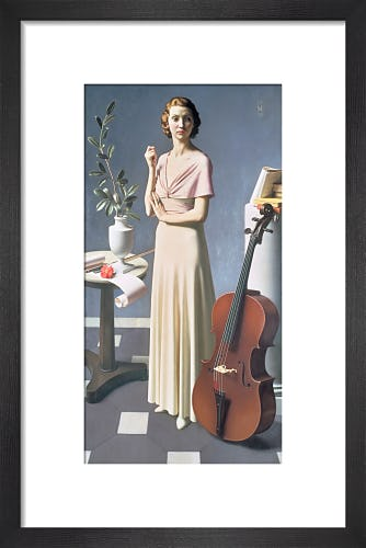 Portrait of a Young Woman, 1935 by Meredith Frampton