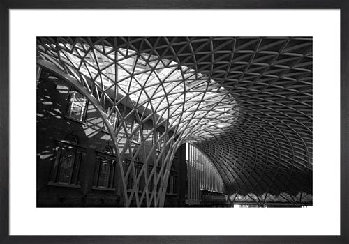 Roofspan, Kings Cross Station by Niki Gorick