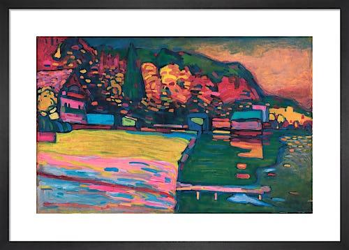 Lake Starnberg, 1908 by Wassily Kandinsky
