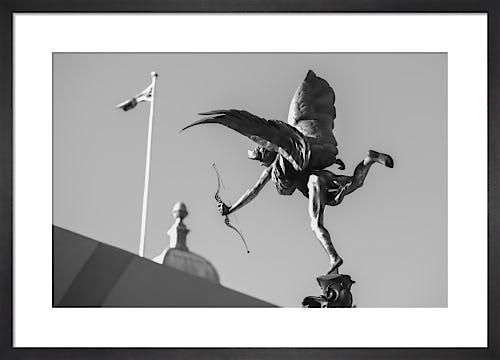 Eros, Picadilly Circus by Niki Gorick