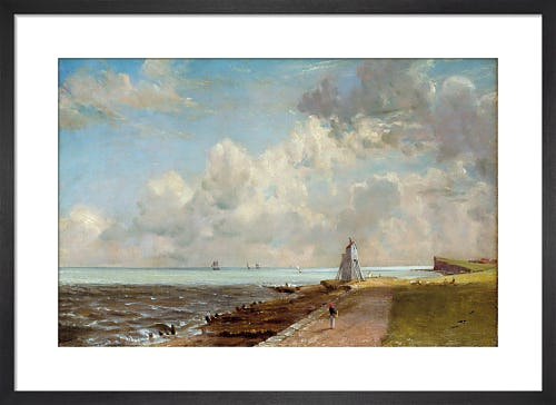 Harwich Lighthouse, exhibited 1820 by John Constable