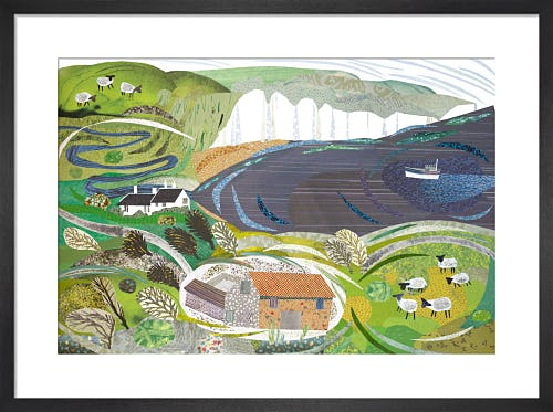 Cuckmere Haven by Jane Robbins
