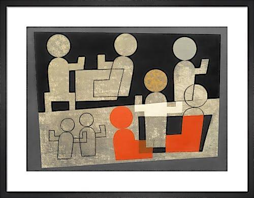 Café, 1928 by Sophie Taeuber-Arp