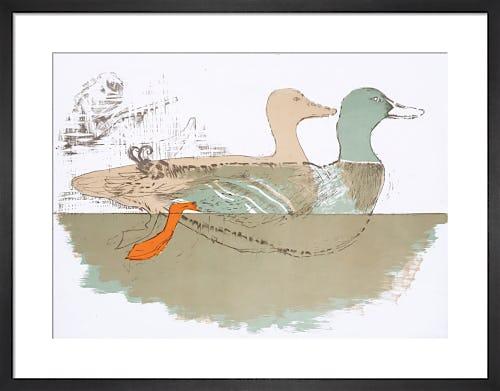 Ducks 1967 by Elisabeth Frink
