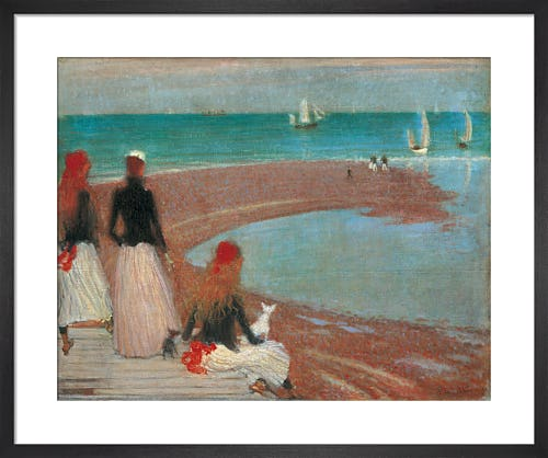The Beach at Walberswick, c.1889 by Philip Wilson Steer