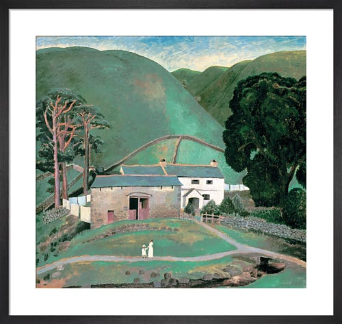 Farm at Watendlath, 1921 by Dora Carrington