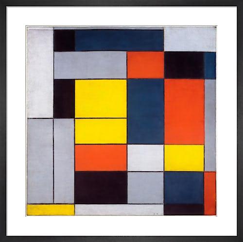 No. VI Composition No.II, 1920 by Piet Mondrian