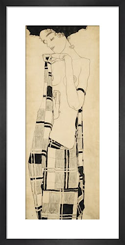 Standing Girl, c.1907-10 by Egon Schiele