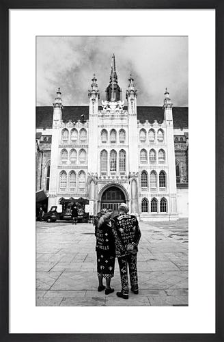 Pearly King and Queen by Guildhall by Niki Gorick