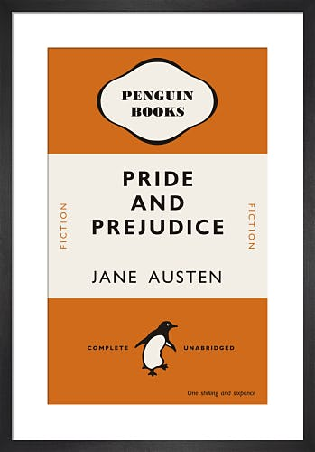 Pride and Prejudice by Penguin Books
