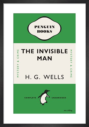 The Invisible Man by Penguin Books