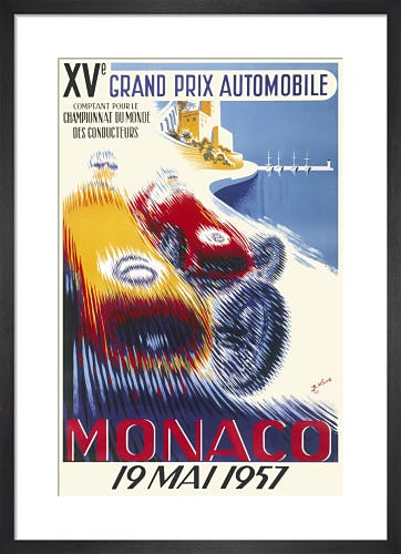 Monaco Grand Prix, 1957 by Unknown artist