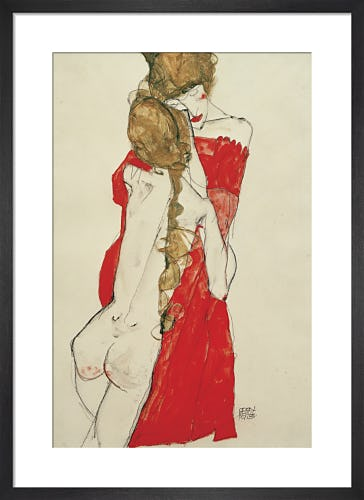 Mutter und Tochter (Mother and Daughter), 1913 by Egon Schiele