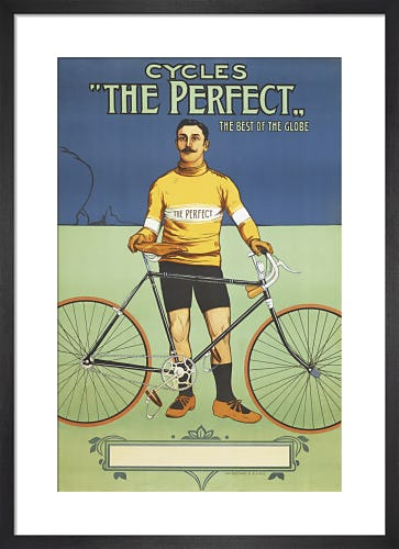 'The Perfect' Bicycle, 1895 by Unknown artist