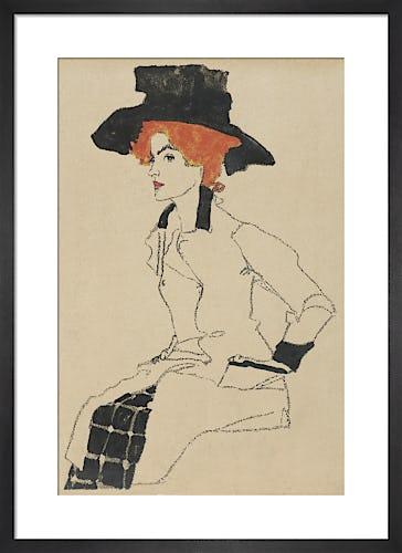 Portrait of a Woman by Egon Schiele