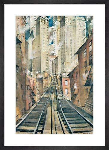 The Soul of the Soulless City ('New York - an Abstraction'), 1920 by Christopher Richard Wynne Nevinson