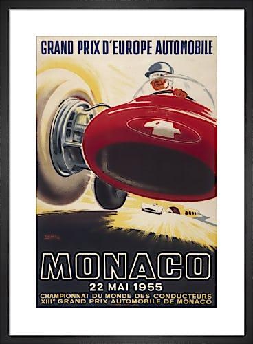Monaco Grand Prix, 1955 by Unknown artist