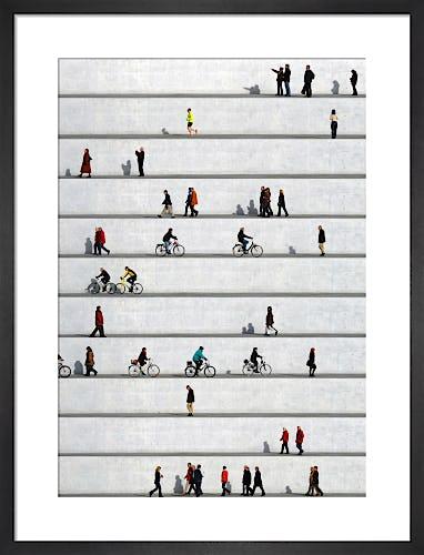 Wall People Detail No.16 by Eka Sharashidze