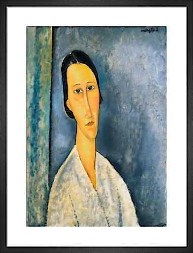 Madame Zborowska, 1918 by Amedeo Modigliani