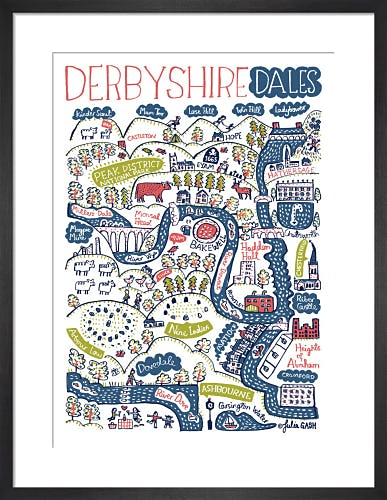 Derbyshire Dales by Julia Gash