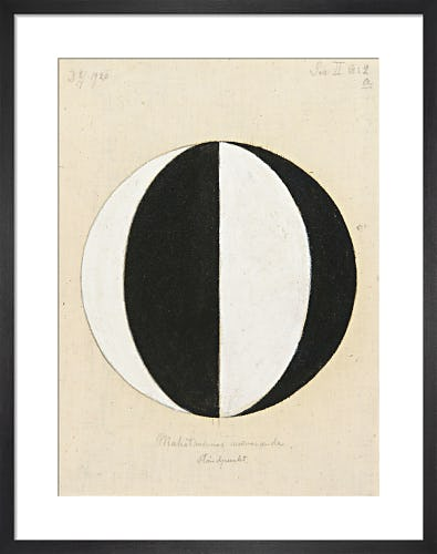 No.2a, The Current Standpoint of the Mahatmas, 1920. by Hilma af Klint