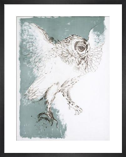 Owl 1967 by Elisabeth Frink