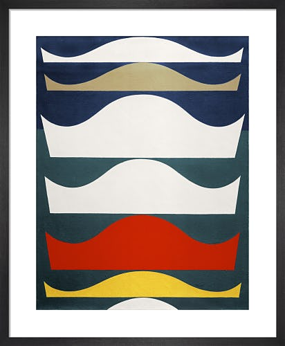 Farbige Abstufung (Graduation in colour), 1939 by Sophie Taeuber-Arp