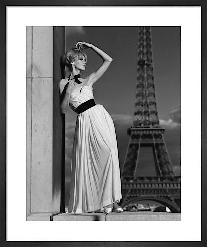 Pierre Balmain evening gown by John French