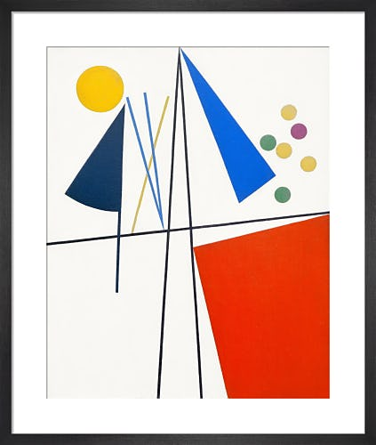 Equilibre (Balance), 1932 by Sophie Taeuber-Arp
