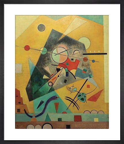 Quiet Harmony 1924 by Wassily Kandinsky