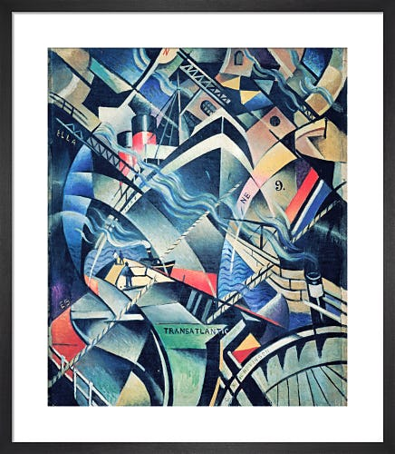 The Arrival, c.1913 by Christopher Richard Wynne Nevinson