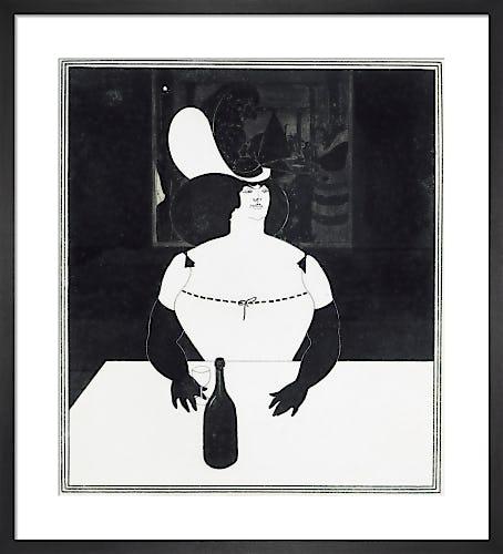 The Fat Woman, 1894 by Aubrey Beardsley