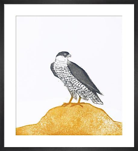 Peregrine Falcon 1974 by Elisabeth Frink